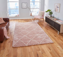 Atlas 01678 Pink/Cream - Perfectly Home Interiors