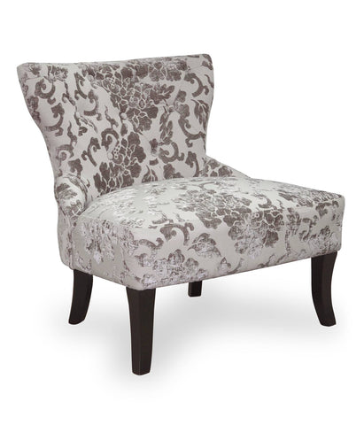 Silver Classic ChenilleTub Chair
