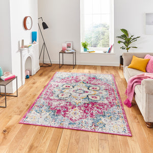 Boston G0532 Fuschia Blue - Perfectly Home Interiors