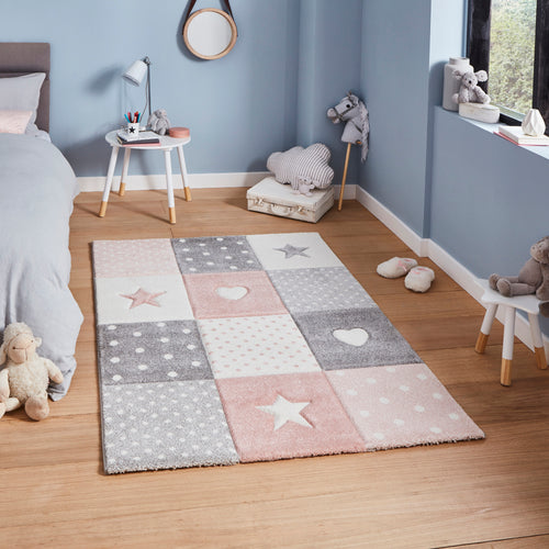 Brooklyn Kids 20339 Pink - Perfectly Home Interiors
