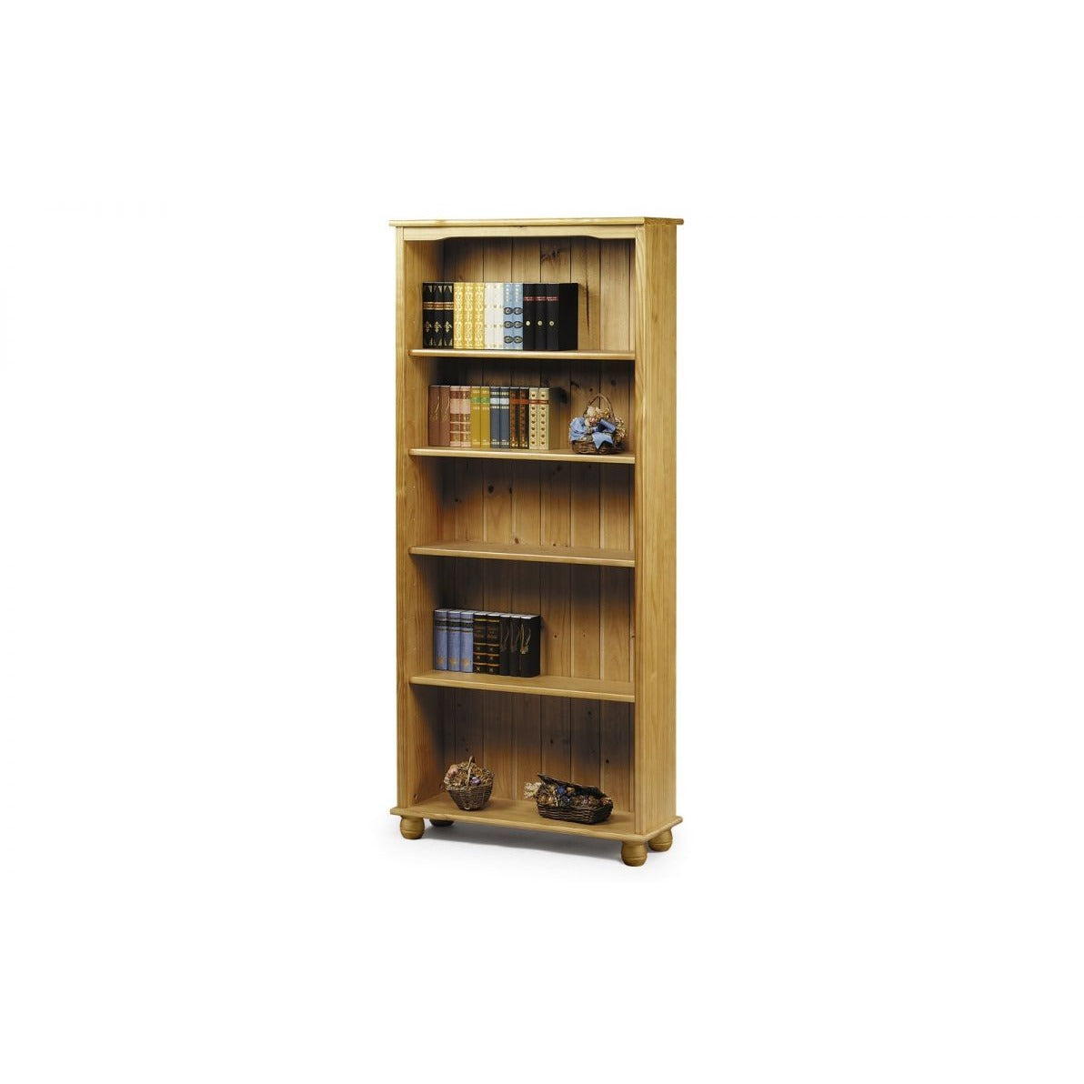 Cambridge Solid Pine Bookcase - Perfectly Home Interiors