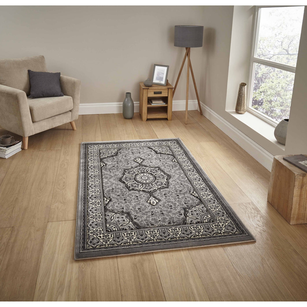 Heritage 4400 Grey Rug - Perfectly Home Interiors