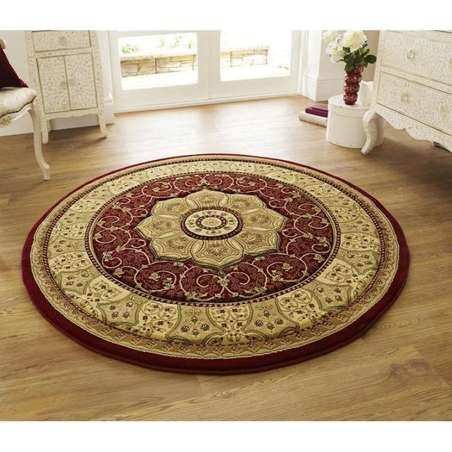 Heritage 4400 Red Rug - Perfectly Home Interiors