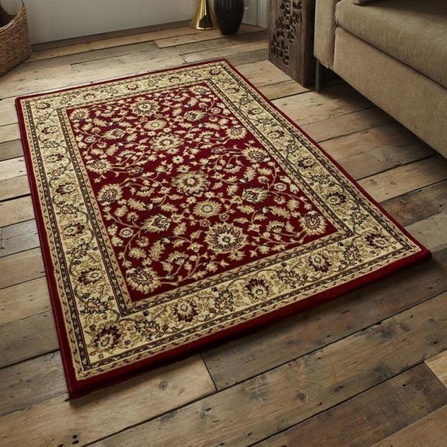 Heritage 993 Red Rug - Perfectly Home Interiors