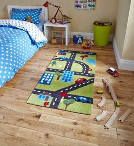 Hong Kong 5179 Green Kids - Perfectly Home Interiors
