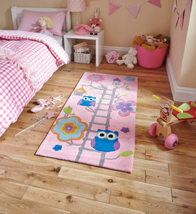 Hong Kong 5648 Pink Kids - Perfectly Home Interiors