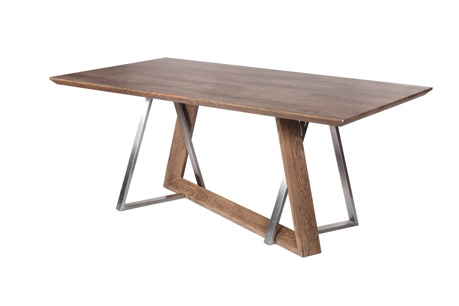 Industrial style 150cm Dining Table - Perfectly Home Interiors