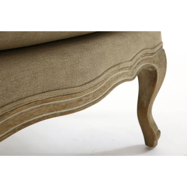 Louis Grande Footstool - Perfectly Home Interiors