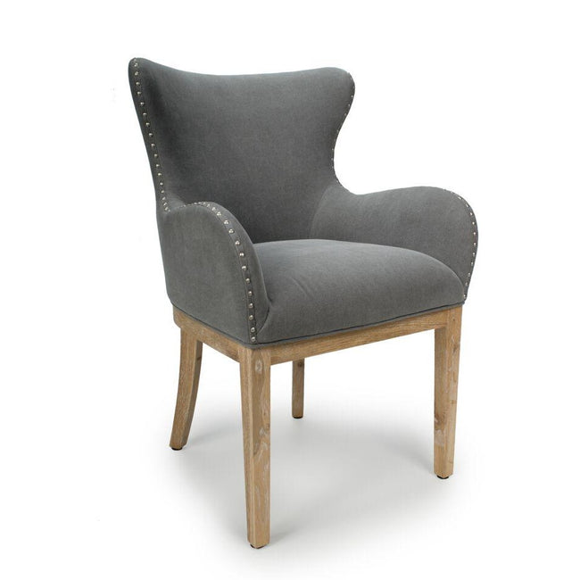 Low Curved Wing back chair - Perfectly Home Interiors