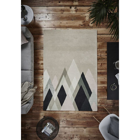 Woodland 6318 Beige/Black Rug