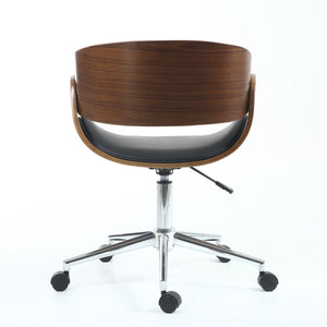 Okka Office Chair Black - Perfectly Home Interiors