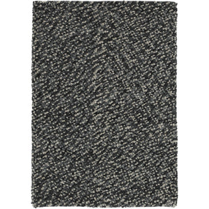 Pebbles Grey Hand Knotted Wool Rug - Perfectly Home Interiors