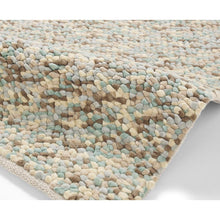 Pebbles Light Blue Hand Knotted Wool Rug - Perfectly Home Interiors