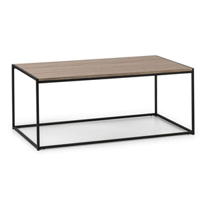 Tribeca metal and oak Coffee Table - Perfectly Home Interiors