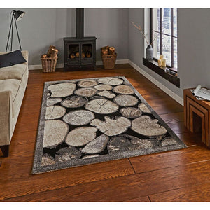 Woodland 4626 Cream/Grey Rug - Perfectly Home Interiors