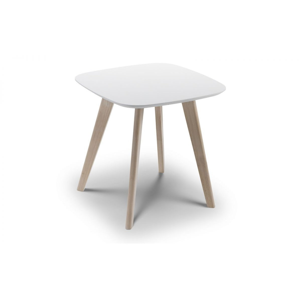 Casa white Lamp Table - Perfectly Home Interiors