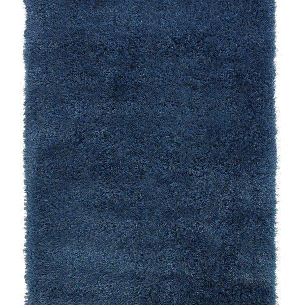 Monte Carlo Blue shaggy Rug - Perfectly Home Interiors