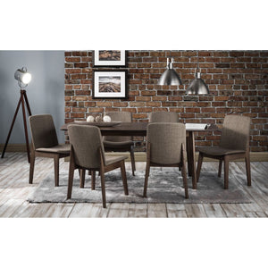 Kensington Extending walnut Dining Table - Perfectly Home Interiors