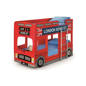 London Bus kid's Bunk Bed - Perfectly Home Interiors