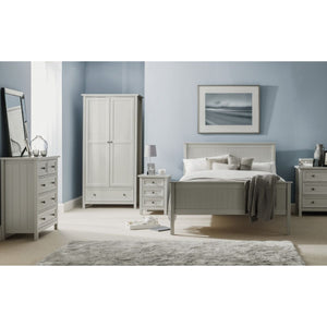 Maine Dove Grey 3 Drawer Chest - Perfectly Home Interiors