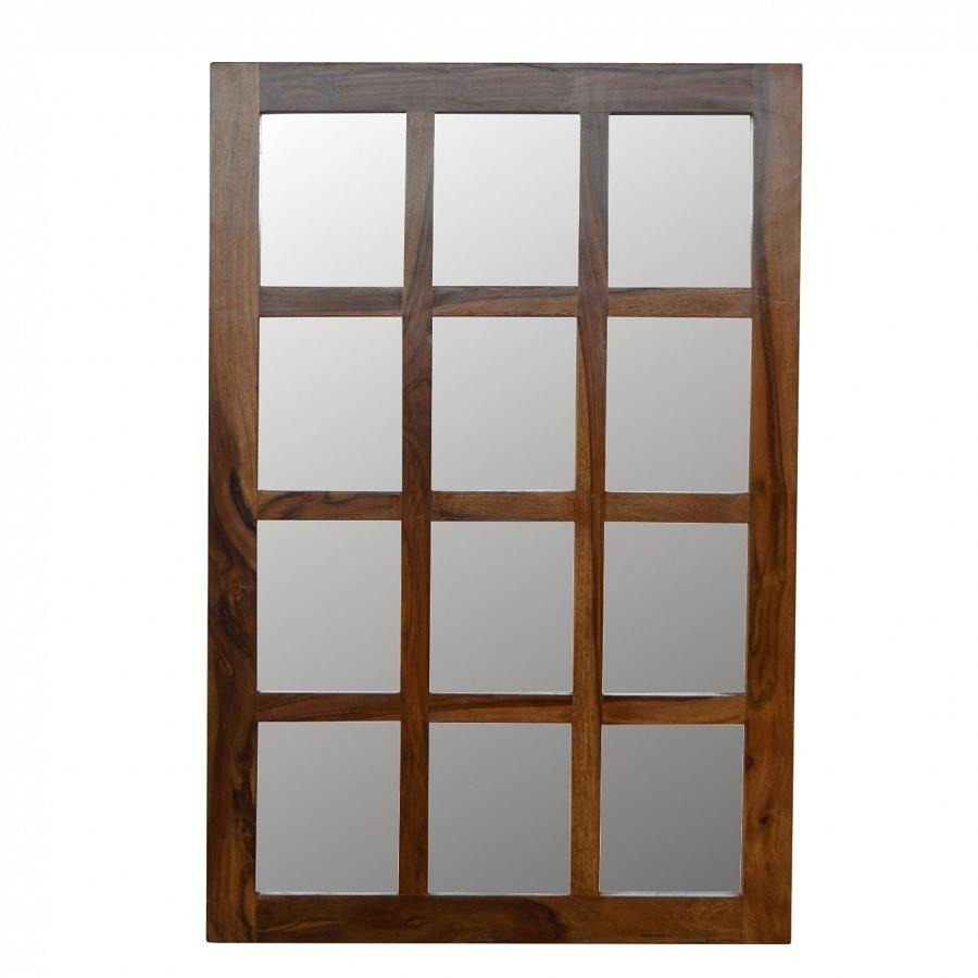 Solid Sheesham Wood Mirror - Perfectly Home Interiors