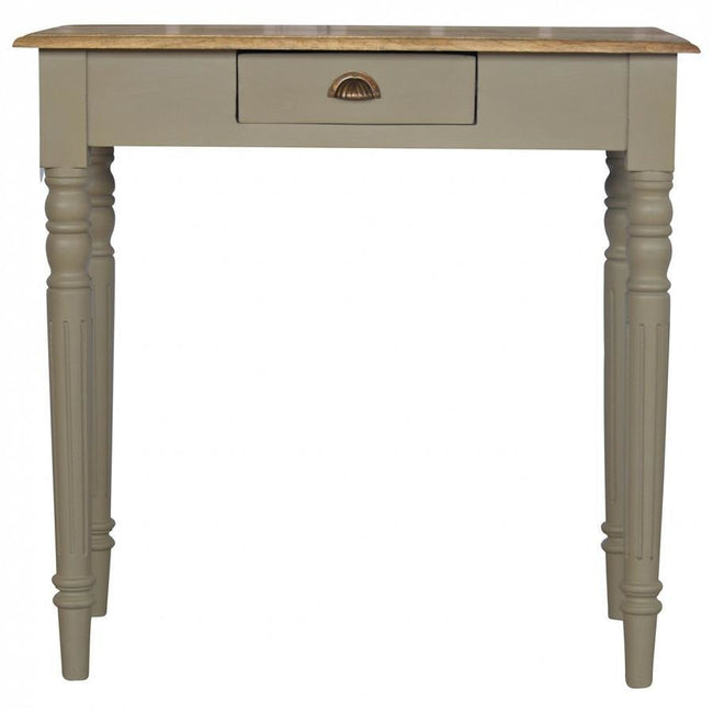 1 Drawer Writing Desk - Perfectly Home Interiors