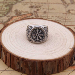 Adjustable Vegvisir Ring