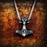 Rams Mjolnir Necklace