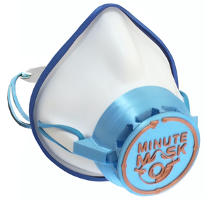 Minute Mask w/Badge