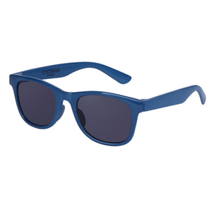 COCOSAND Classic Kids Sunglasses with Strap, Age 4-10, Navy Blue