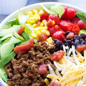 Super Easy Taco Salad