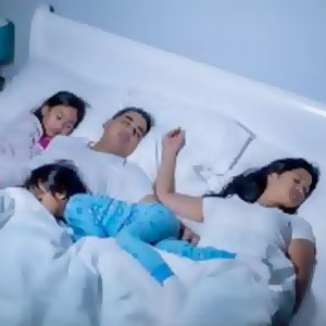 Family Sleeping
