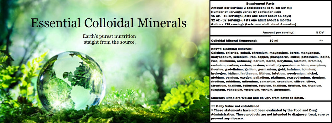 Essential Colloidal Minerals