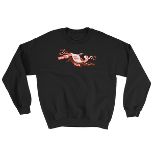 Red Scroll Sweatshirt
