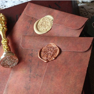Pack of 5 Novelty Antique Envelopes