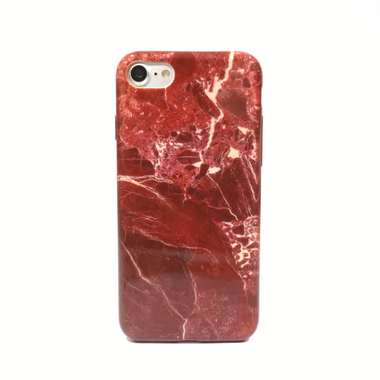 Red Classic Marble Case