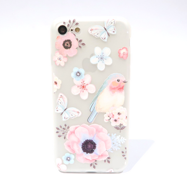 Spring Bird Flowery Case