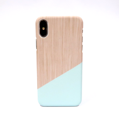 Blue Pastel Block Iphone Case