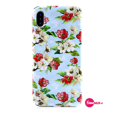 Skyblue Vintage Floral Case