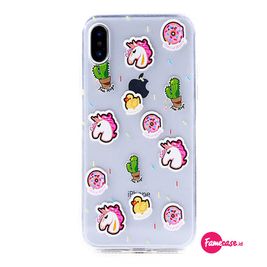 Unicorn Tumblr Donut Case