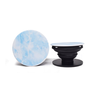 Grip Socket - Ice Blue Marble