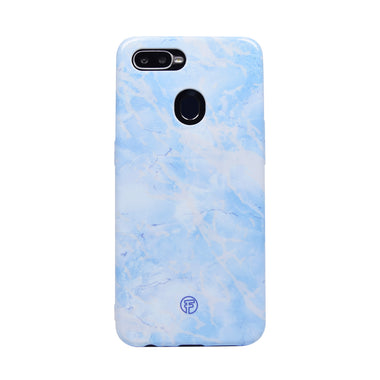 Ice Blue Marble Oppo Case