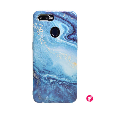 Blue Pixie Marble Oppo Case