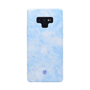 Ice Blue Marble Samsung Case