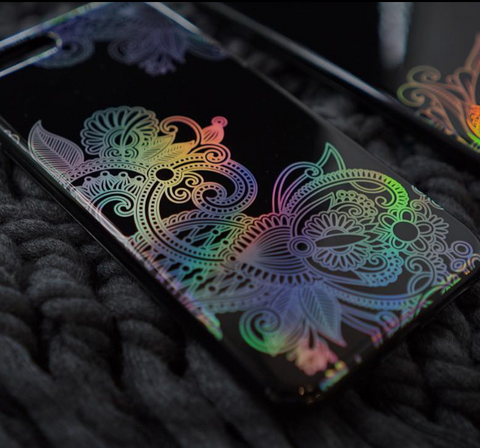Holo Engraving Iphone Case