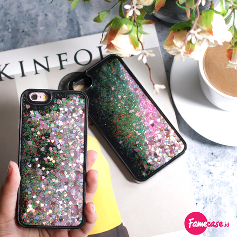 Water Glitter Iphone Case