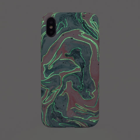 New Mermaid Water Marble Case