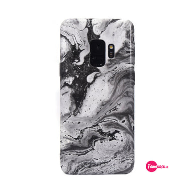 Black Coral Marble Samsung Case
