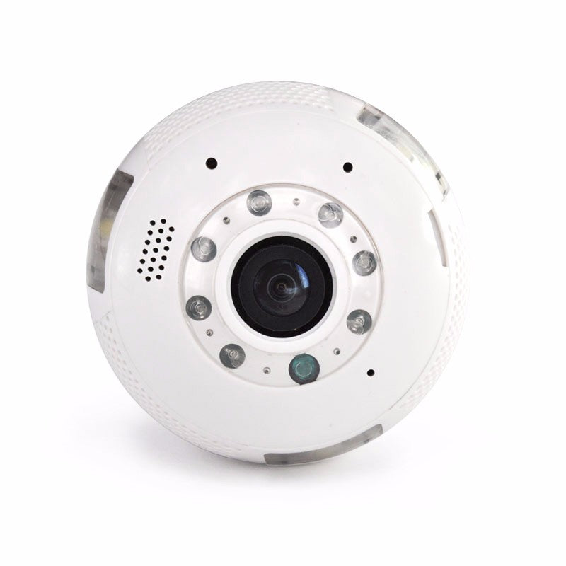 Wi-Fi Bulb with Fisheye Panoramic Camera