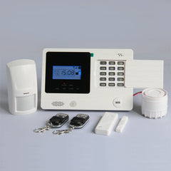 Wireless GSM Home Intelligent Alarm System